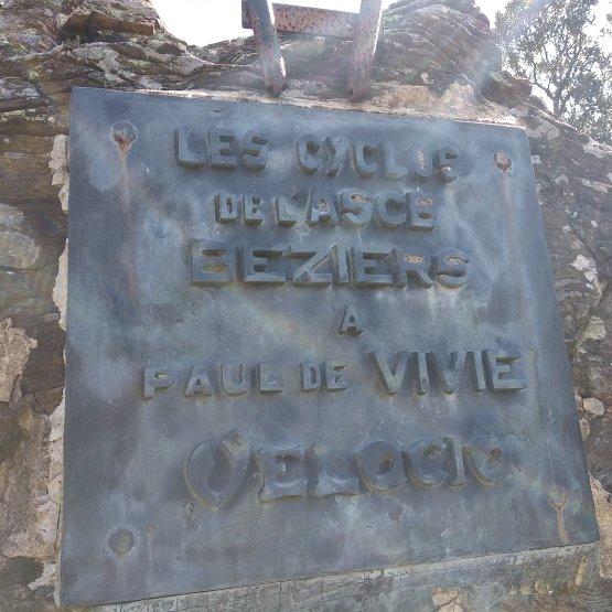 Souvenir Paul de Vivié dit Vélocio